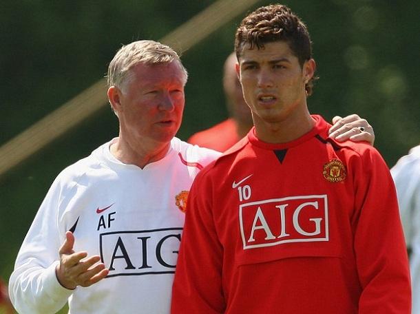 Alex-Ferguson i Cristiano-Ronaldo