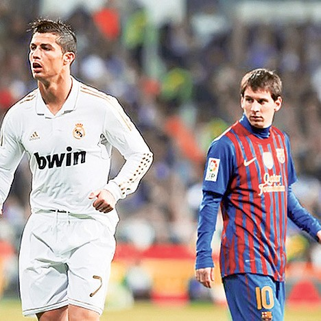 Ronaldo i Mesi