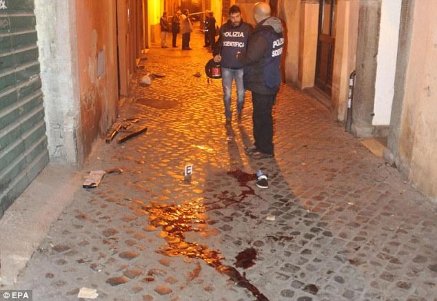 Krvavo na rimskim ulicama