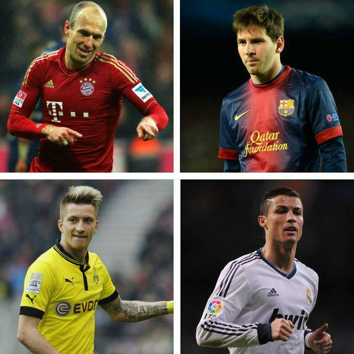 Bajern - Barselona, Dortmund - Real Madrid