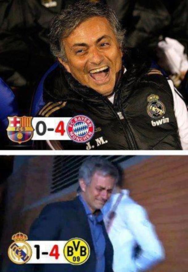 Murinjo posle Barse i posle svoje utakmice
