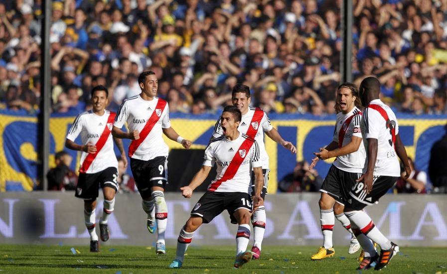 River Plate je poveo u prvom minutu