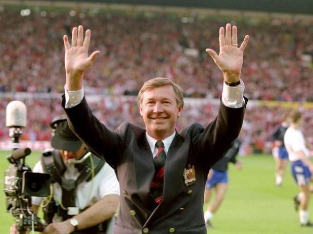 Maj 1993. - Proslava prve titule u Premijer Ligi.