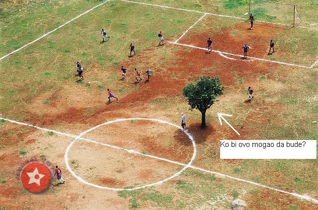 Šćepović kao drvo na utakmici