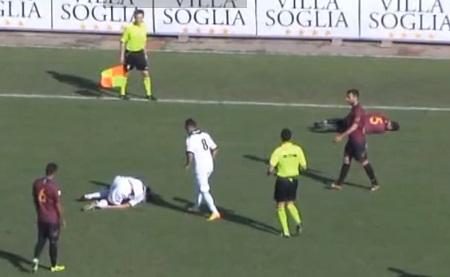 Petorica fudbalera glumlilo da su povređeni