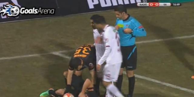 Teška povreda fudbalera Galatasaraja