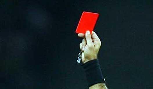 Podelio 10 crvenih kartona za 90 minuta
