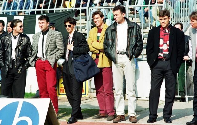 Igrači Partizana početkom 90ih