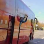 Akcija Bajerna iz autobusa