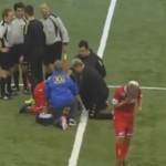 Uspeo da se povredi pre početka utakmice